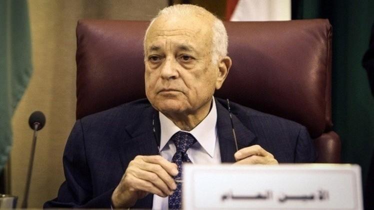 العربي يؤكد أهمية تشكيل قوة عربية لمكافحة الإرهاب