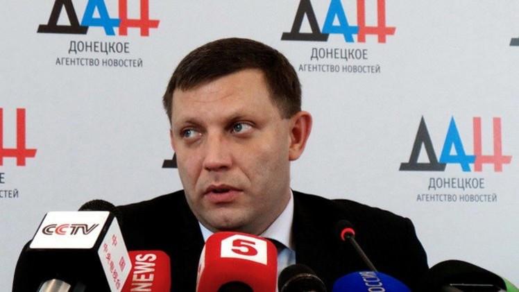 زاخارتشينكو ينتقد تصريحات بوروشينكو وياتسينيوك