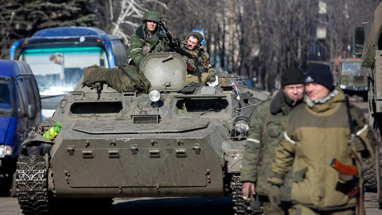 قوات دونيتسك تبدأ سحب الأسلحة الثقيلة في شرق أوكرانيا