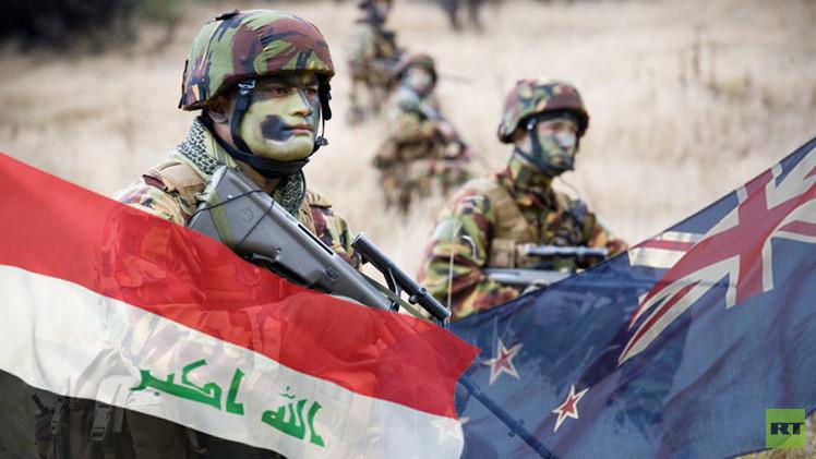 نيوزيلاندا تشارك في تدريب الجيش العراقي
