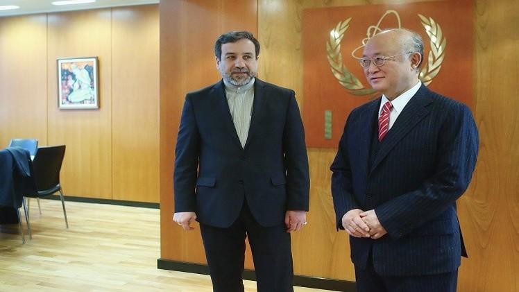 طهران والوكالة الدولية للطاقة الذرية تتفقان على تعزيز التعاون