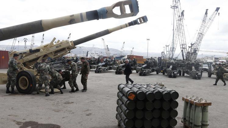 الأردن يقدم آليات عسكرية للجيش اللبناني