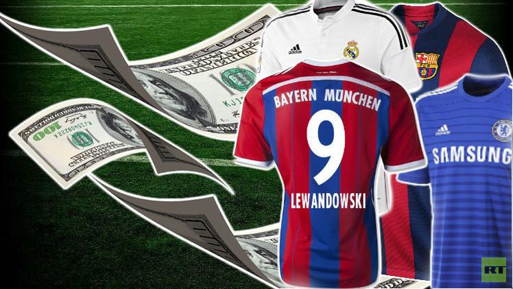 160 مليون يورو استثمارات الإمارات وقطر في قمصان اللاعبين الأوروبيين