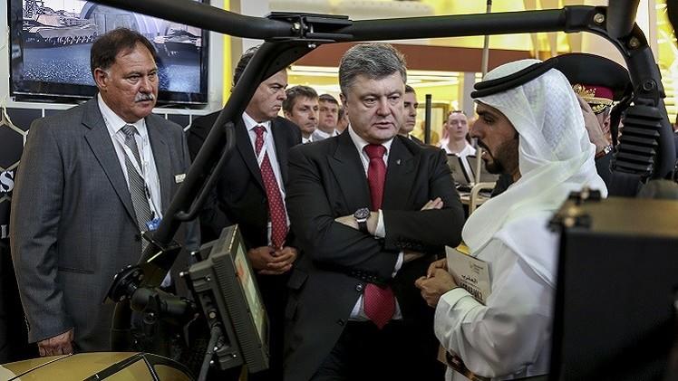 بوروشينكو: اتفاقياتنا مع الإمارات ستعزز الجيش الأوكراني