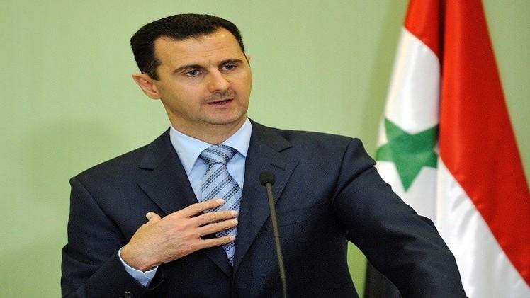 سوريا.. الأسد يلتقي رئيس مجلس الشيوخ الباكستاني