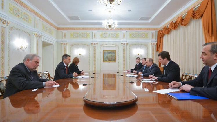 بوتين يستقبل رئيس اللجنة الدولية للصليب الأحمر