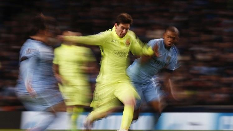 برشلونة يحجم مانشستر سيتي في التشامبيونز ليغ