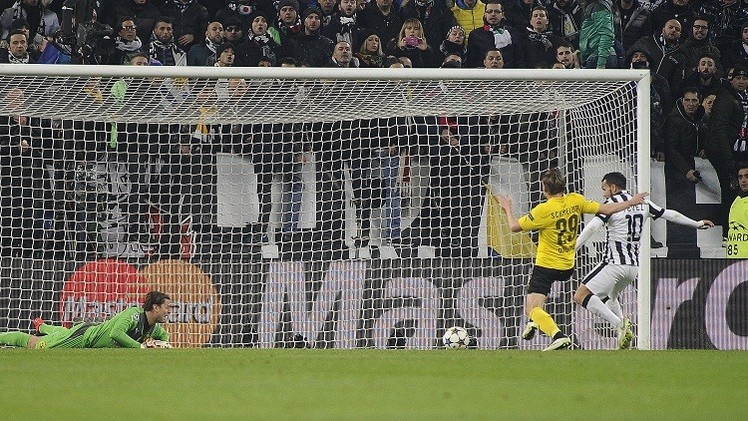 يوفنتوس يروض دورتموند في دوري أبطال أوروبا