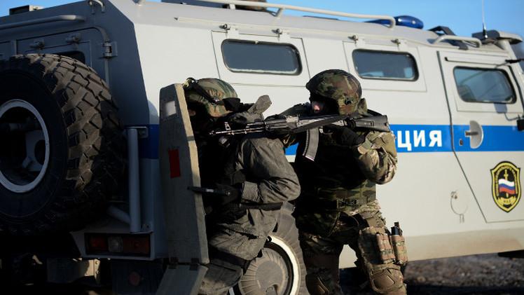 الأمن الروسي يحاصر مسلحين في داغستان