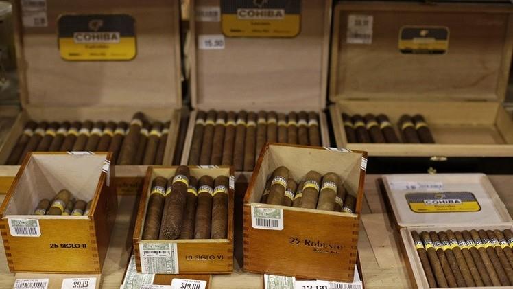 كوبا تطمح لتصدير 250 مليون سيجار للولايات المتحدة