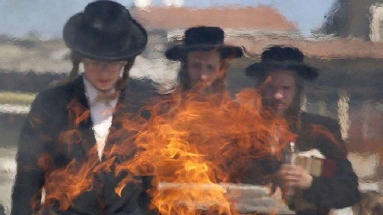 مستوطنون إسرائيليون يحرقون  غرفة تابعة لكنيسة في القدس