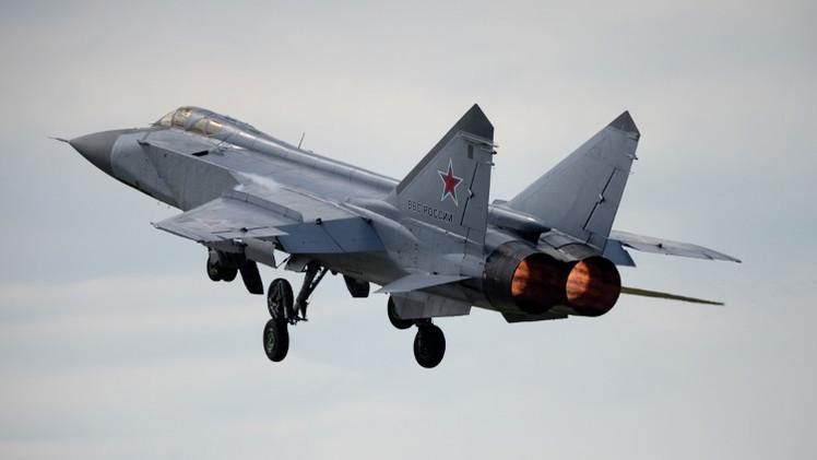 مقاتلات روسية تجري تدريبات لاعتراض صواريخ شمال غرب البلاد