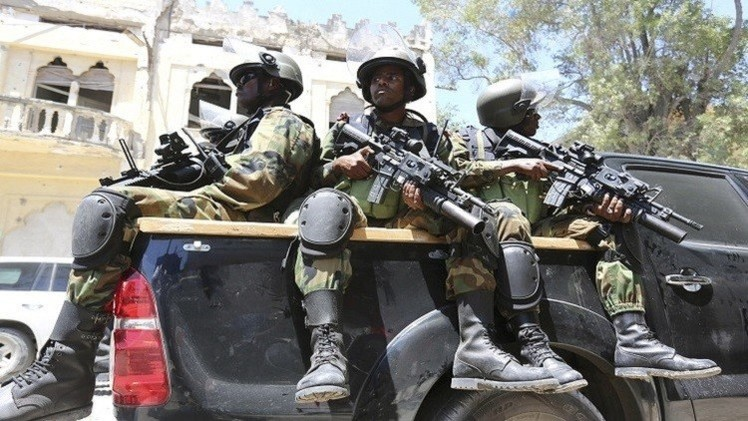 استهداف القصر الرئاسي في مقديشو