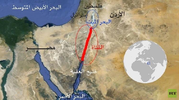 اتفاق أردني إسرائيلي على إطلاق مشروع وصل البحر الأحمر بالميت