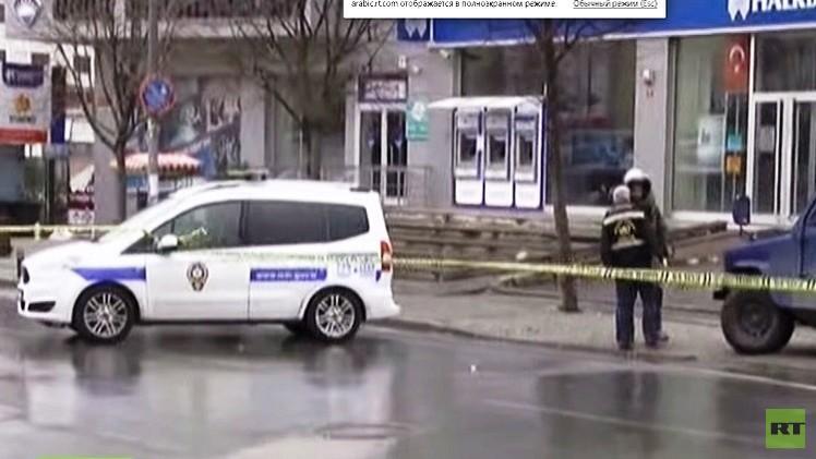 اعتقال شخص هدد بتفجير قنبلة أمام القنصلية الأمريكية في اسطنبول