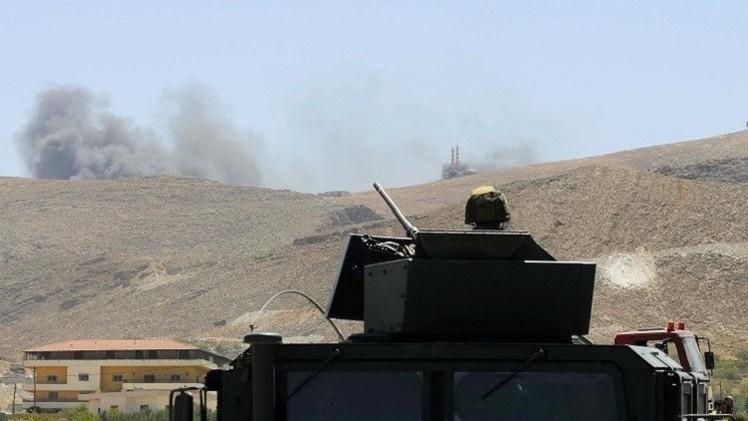 الجيش اللبناني يقصف مواقع مسلحين في رأس بعلبك