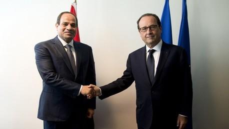 """الجيش المصري يتسلم 3 مقاتلات """"رافال"""" فرنسية الصنع"""