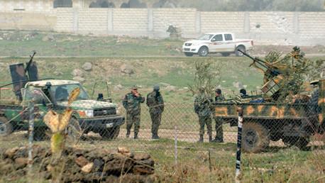 قوات سورية في درعا