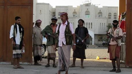 أحد العناصر القبلية اليمنية المسلحة