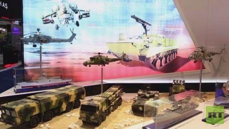 نماذج من الأسلحة الروسية