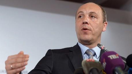 النائب الأول لرئيس البرلمان الأوكراني أندريه باروبي