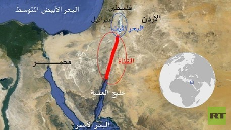 قناة الربط بين البحر الميت والبحر الأحمر
