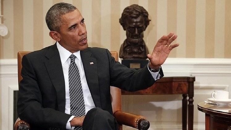 أوباما يهدد بالفيتو مطالبة الكونغرس بمراجعة الاتفاق مع إيران