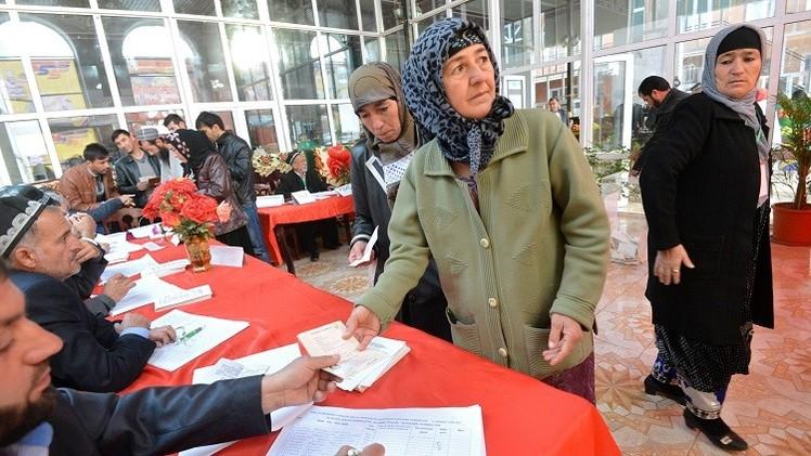 طاجكستان تنتخب برلمانا جديدا
