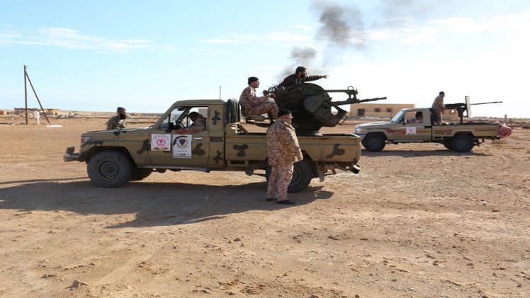 الجيش الليبي يحاصر
