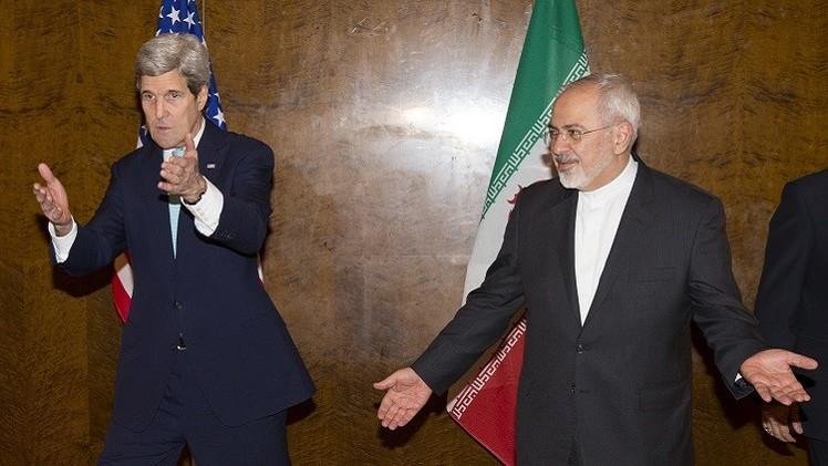 كيري وظريف يبحثان الملف النووي الإيراني في جنيف