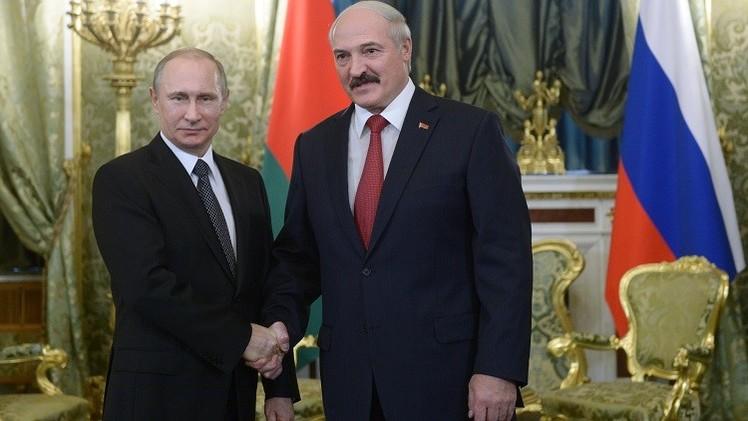 بوتين يبحث مع لوكاشينكو أوكرانيا ويشيد بجهود رئيس بيلاروس في تسوية الأزمة