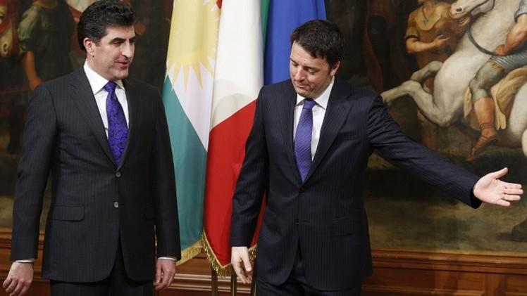 إيطاليا بصدد إرسال أسلحة ومدربين إلى العراق لمحاربة