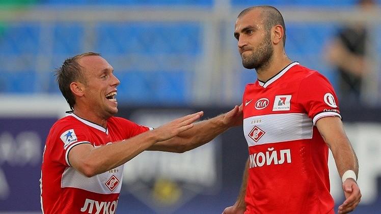 سبارتاك موسكو يتفوق على فريق دنماركي وديا