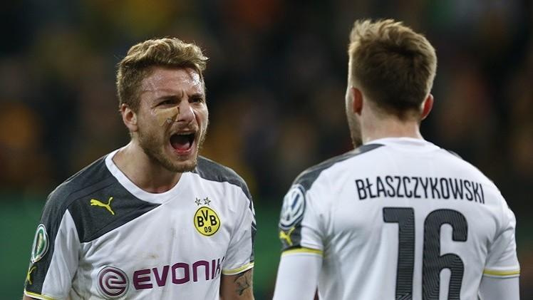 دورتموند وليفركوزن لدور إلى ربع نهائي كأس ألمانيا