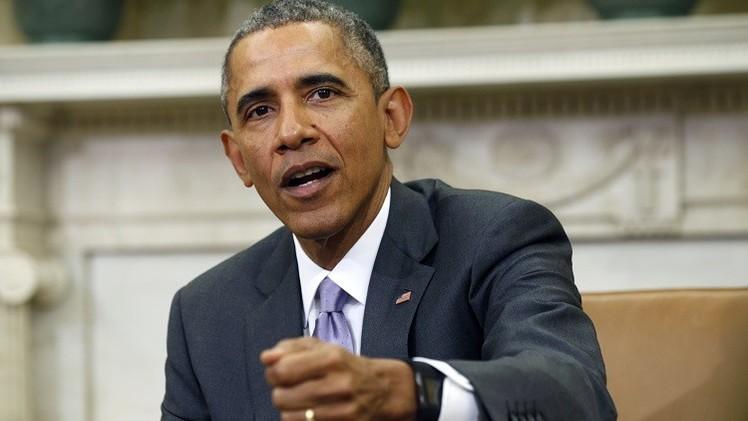 أوباما يمدد العقوبات المفروضة على روسيا  لمدة عام