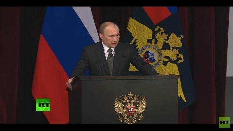 بوتين: نواجه محاولات لإثارة الفوضى ونشر الكراهية