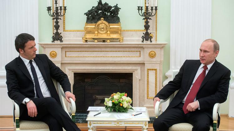 بوتين: العلاقات التجارية والاقتصادية بين روسيا وإيطاليا في حالة جيدة