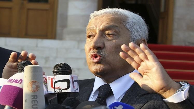 العربي والنسور يشددان على ضرورة مجابهة الإرهاب