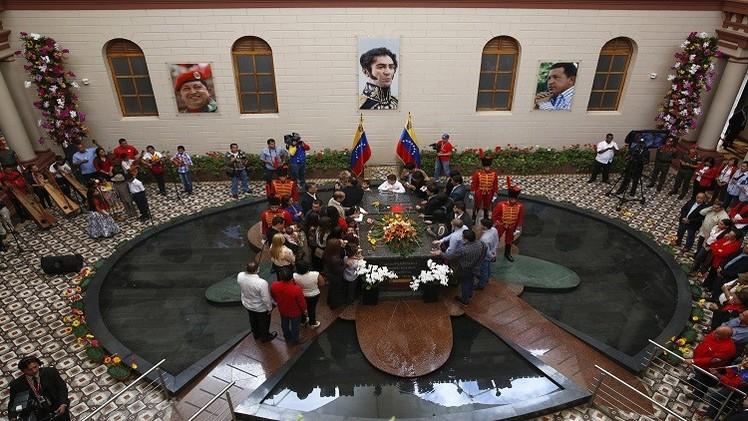 فنزويلا تحي ذكرى وفاة زعيمها شافيز (فيديو)