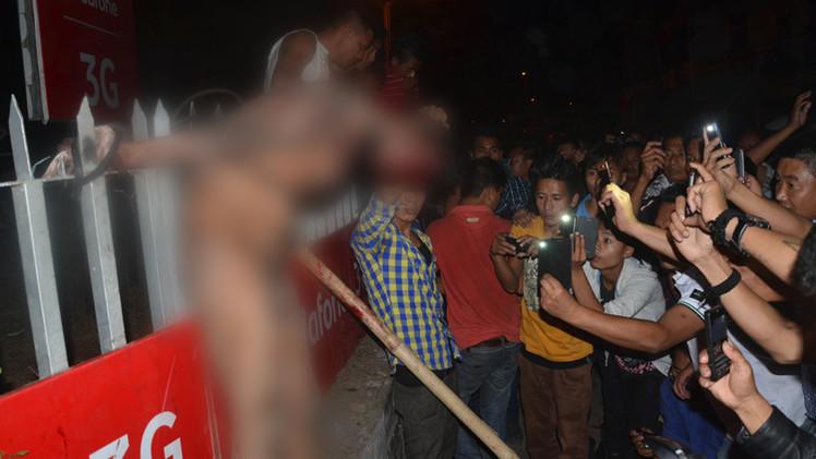 الهند.. اختطاف متهم باغتصاب طالبة من سجنه وسحله حتى الموت (فيديو)