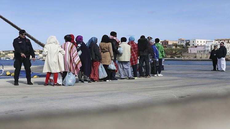 50 قتيلا على الأقل في غرق سفينة مهاجرين قبالة سواحل صقلية