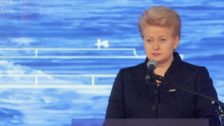 بوشكوف: تصريحات رئيسة ليتوانيا حول