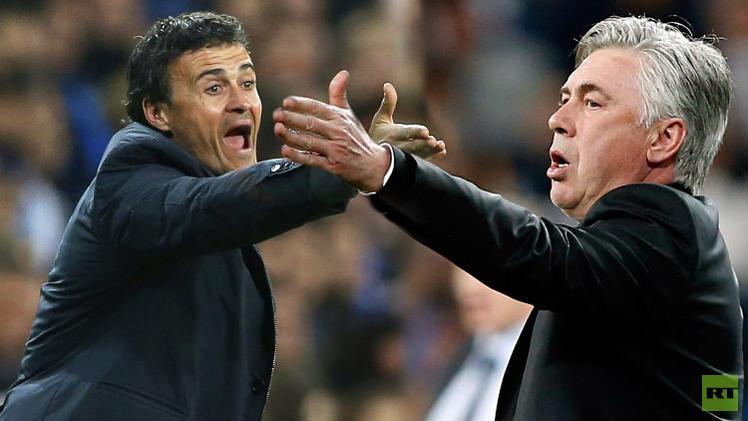 برشلونة وريال مدريد ومعادلة اقتناص لقب الدوري