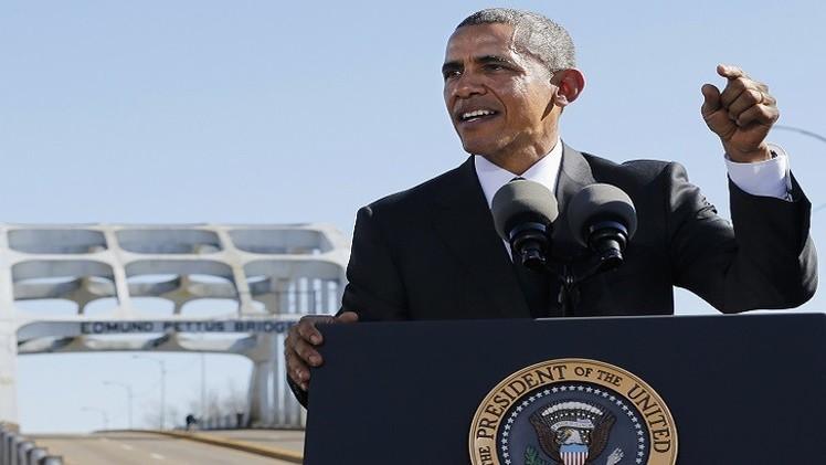 أوباما: العنصرية في الولايات المتحدة لم تنته بعد