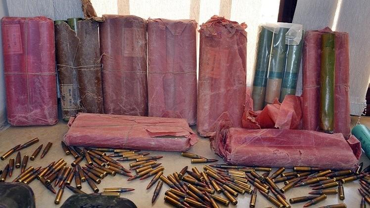 تونس تضبط ثاني مخبأ كبير للأسلحة في أسبوع قرب الحدود الليبية