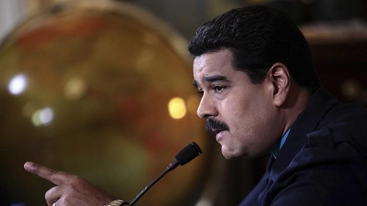 مادورو يتهم أوباما بمحاولة الإطاحة به