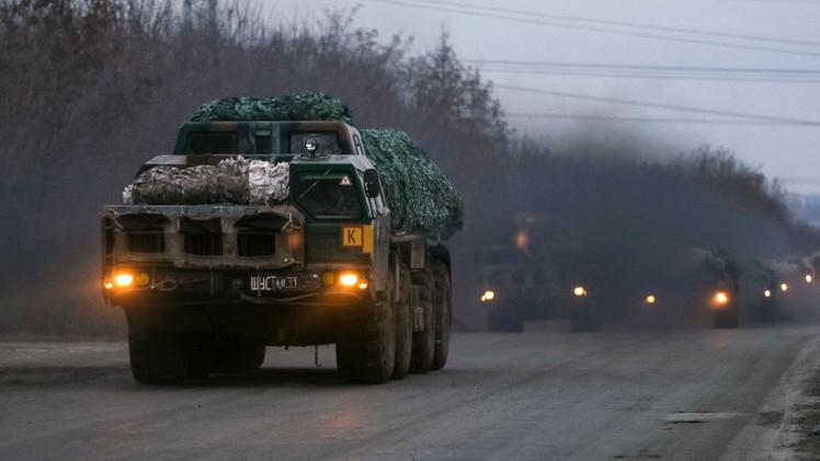 كييف تعلن عن سحب أسلحتها الثقيلة.. وتبادل الاتهامات بخرق الهدنة