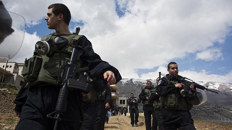 إصابة ضابط إسرائيلي بإطلاق نار في الجولان