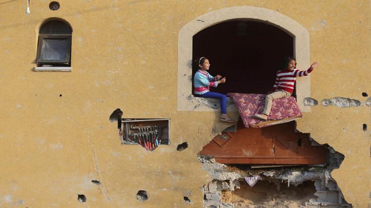 قطر تعلن بدء إعمار غزة