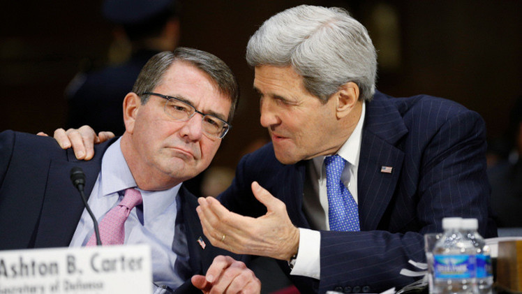 كيري: نسعى لتفويض أممي يرفع الحدود الجغرافية في محاربة داعش
